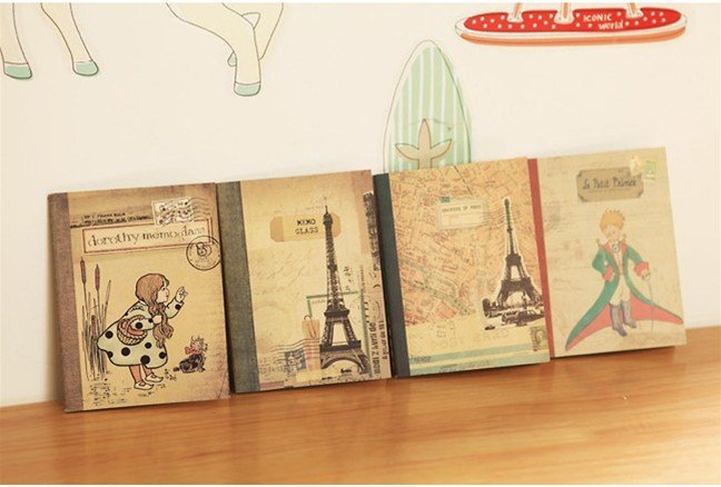 1PCS/LOT  New Vintage Style Prince Series Notebook Pocket Book