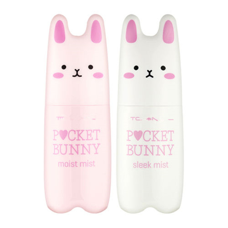 ZANABILI Korean Pocket Bunny Moist Mist 60ml Long lasting moisturizing brightening Skin 2 Type PICK ONE