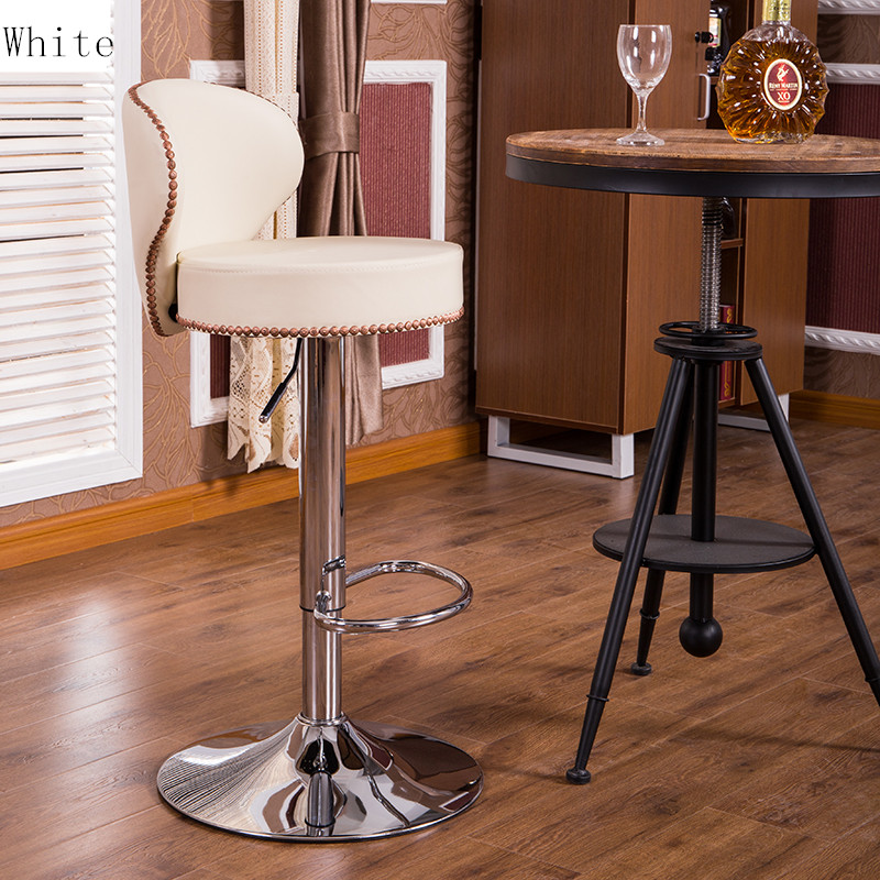 Original Modern Genuine Leather Bar Stool Brown Or Beige White Natural  Cowhide Bar Chair Set Classic Adjustable Bar Stools In Bar Stools From  Furniture On ...