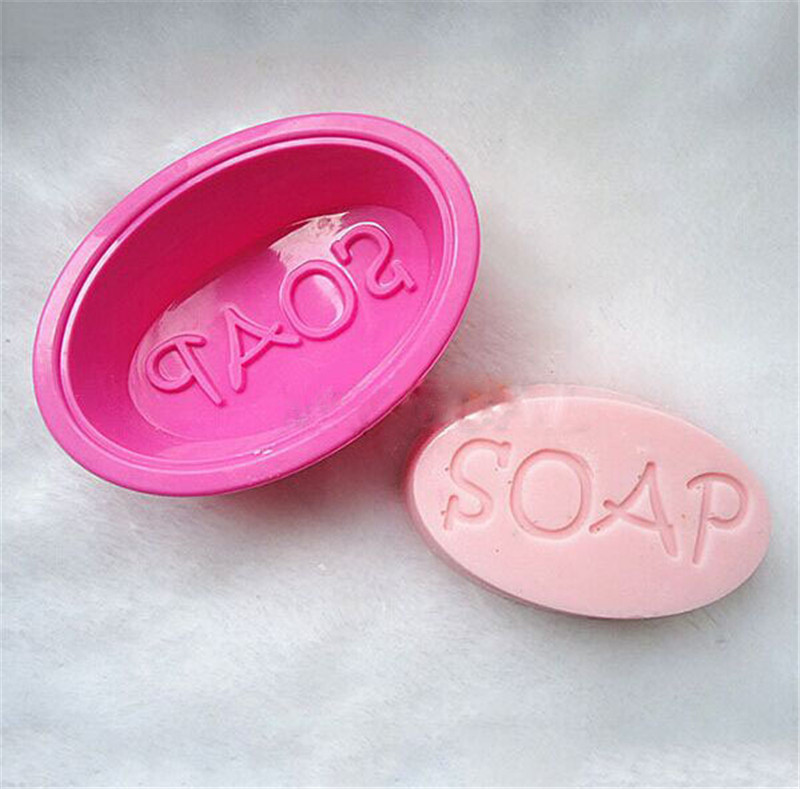 1PC Multifunctional Soap Molds For Soap Making Silicone Soap Mold Circle Cupcake Baking Pan Molds Making Supplies