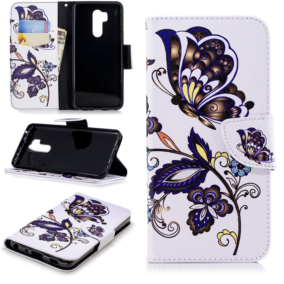 Good Quality Luxury Case For LG G7 ThinQ K8 K10 2018 Stylo4 G3 Mini Business Retro Flip Wallet Card Pocket Cover Brand New P07Z in Wallet Cases from Cellphones Telecommunications
