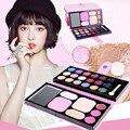 Alta Qualidade 25 Cores de Maquiagem Paleta Sombra Cosméticos Corar Lip Gloss de Longa Duração Em Pó Clareia Marcas Marcadores Olho