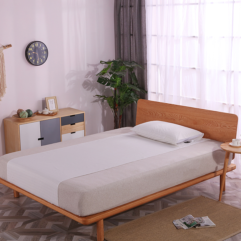 EARTHING white color Bed linings Half Sheet not included pillow case health care Anti free radicals