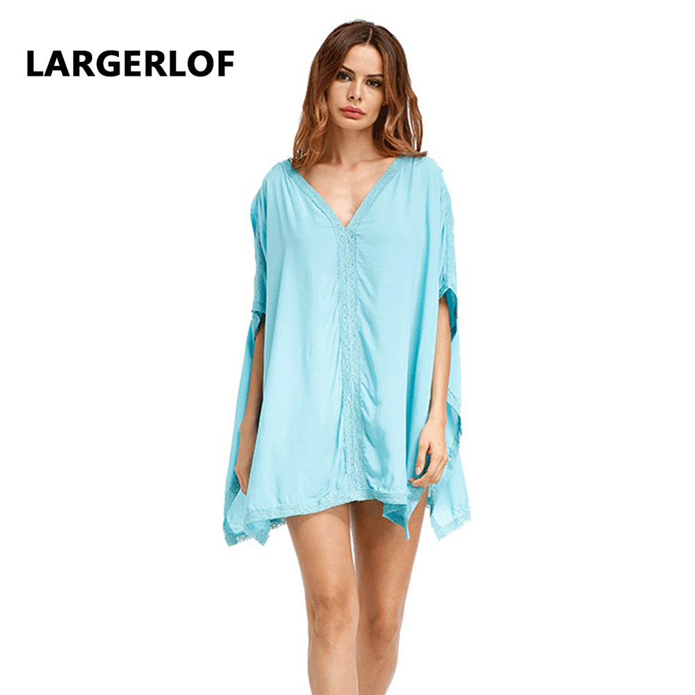 Women Beach Sarong Women Swimsuit Beach Cover Solid White Cotton For Bathing Suit Tunic Swimsuit 2018 New BK27107