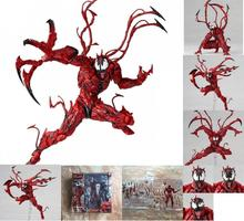 Marvel Amazing Yamaguchi Carnage No.008 Revoltech Series Action Figure  Model Toy Collection Gifts the amazing spider man venom carnage revoltech series no 008 action figure toy brinquedos figurals collection model