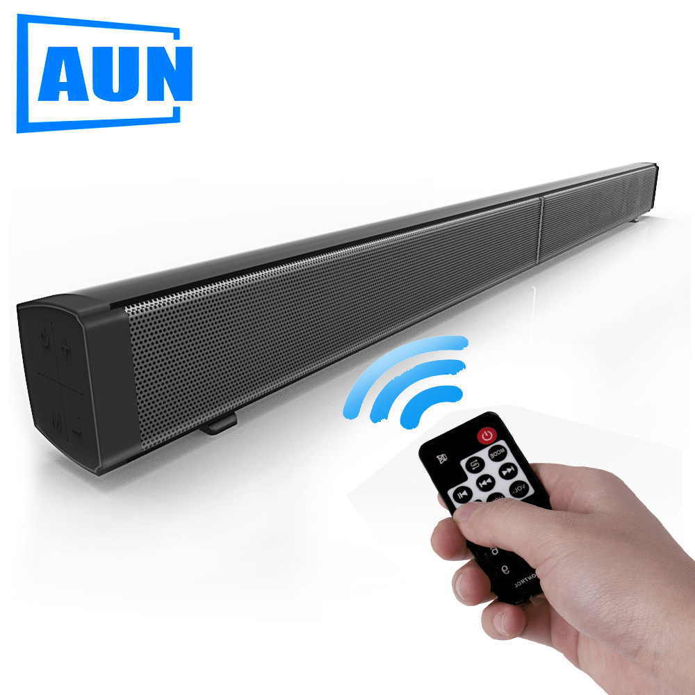 AUN Echo Wall LP09 Bluetooth Speaker Wall Mounted Loudspeaker for AUN Projector, SmartPhone, Tablet PC Speakers for the Computer