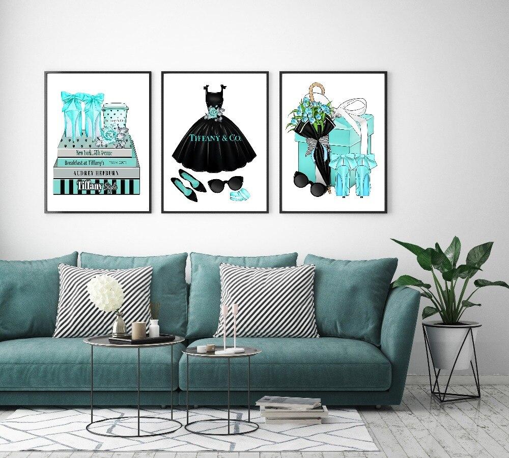 Modern Home Decor Fashion Women Book