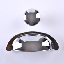 Drawer Pull Handles Dresser Pulls Handles Knobs  Silver Decorative Furniture Cabinet Pull Handle Knob new 2pcs cartoon ceramic cabinet handle and knob seashell wardrobe handle child bedroom drawers knob dresser pull multi