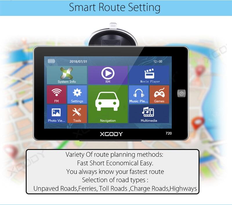 7 Inch Car GPS Navigation (8)