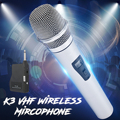 Микрофонный беспроводной приемник для профессионального вокального певца с шумоподавлением микрофон динамический микрофон для караоке м...