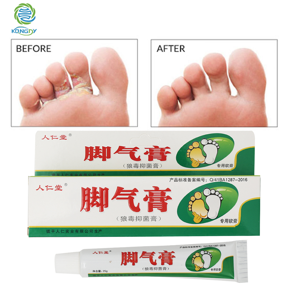 3 Boxes Beriberi Curing Cream Foot Care Chinese Herbal Patch Anti Fungal Infection Feet Repair Athlete's Foot Treatment Cream