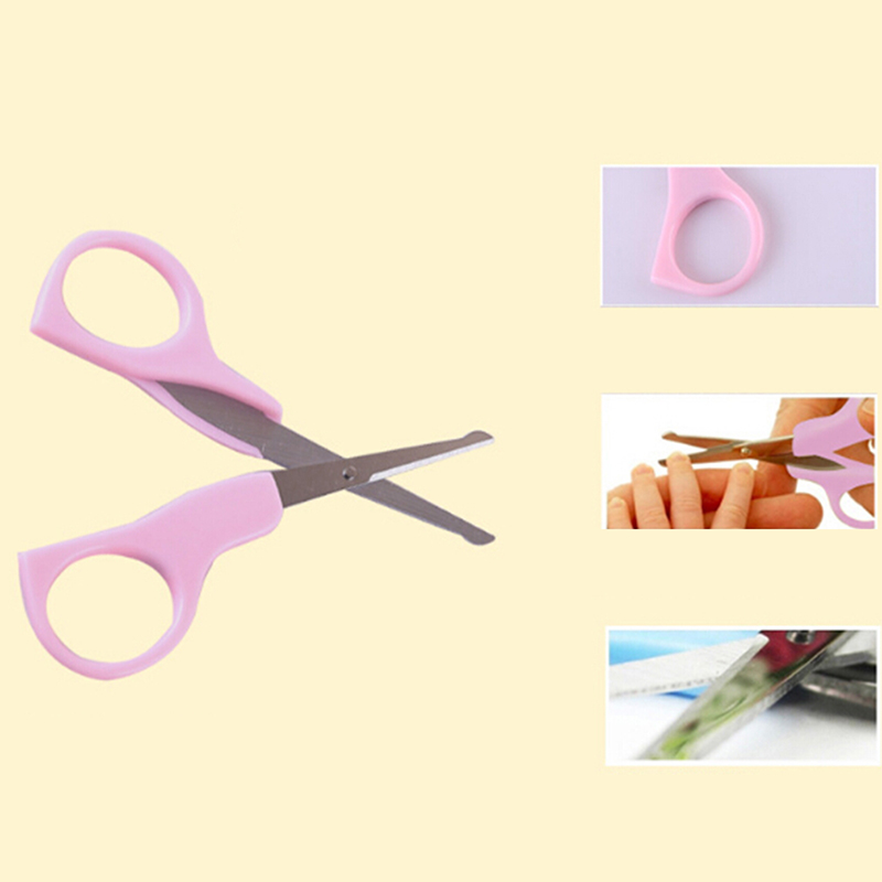 Hot Sale New Lovely Mini Baby Nail  Blue Pink Convenient Daily Baby Accessories Set Care Practical Clip Trimmer