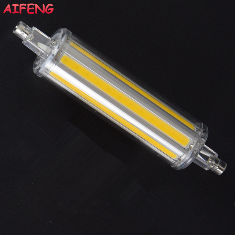 AIFENG Led R7s 118mm 14W 1400LM COB Spotlight Dimmable Non-dimmable Led R7s J118 Light Energy Saving For Home Lighting 110V 220V riggs r miss peregrine s home for peculiar children