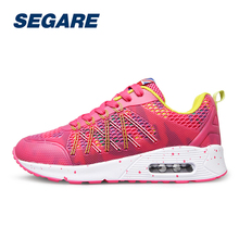 New Women Running Shoes Sneakers Outdoor Walking Shoes Woman Lace Up Mesh Breathable Sport Shoes SE082554