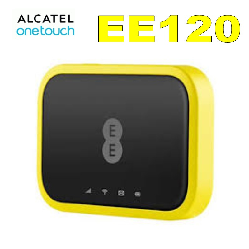 Unlocked New Alcatel EE120 Cat 12 600Mbps Portable 4G LTE Mobile WiFi  Hotspot Modem, 4GEE WIFI MINI