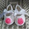 Baby Girl Flor de rose Zapatos, Sapatos Bebé, Zapatos de Los Bebés recién Nacidos, Calzado Infantil de La Muchacha, Suaves Chaussure Fille, Bebe Botines zapatos