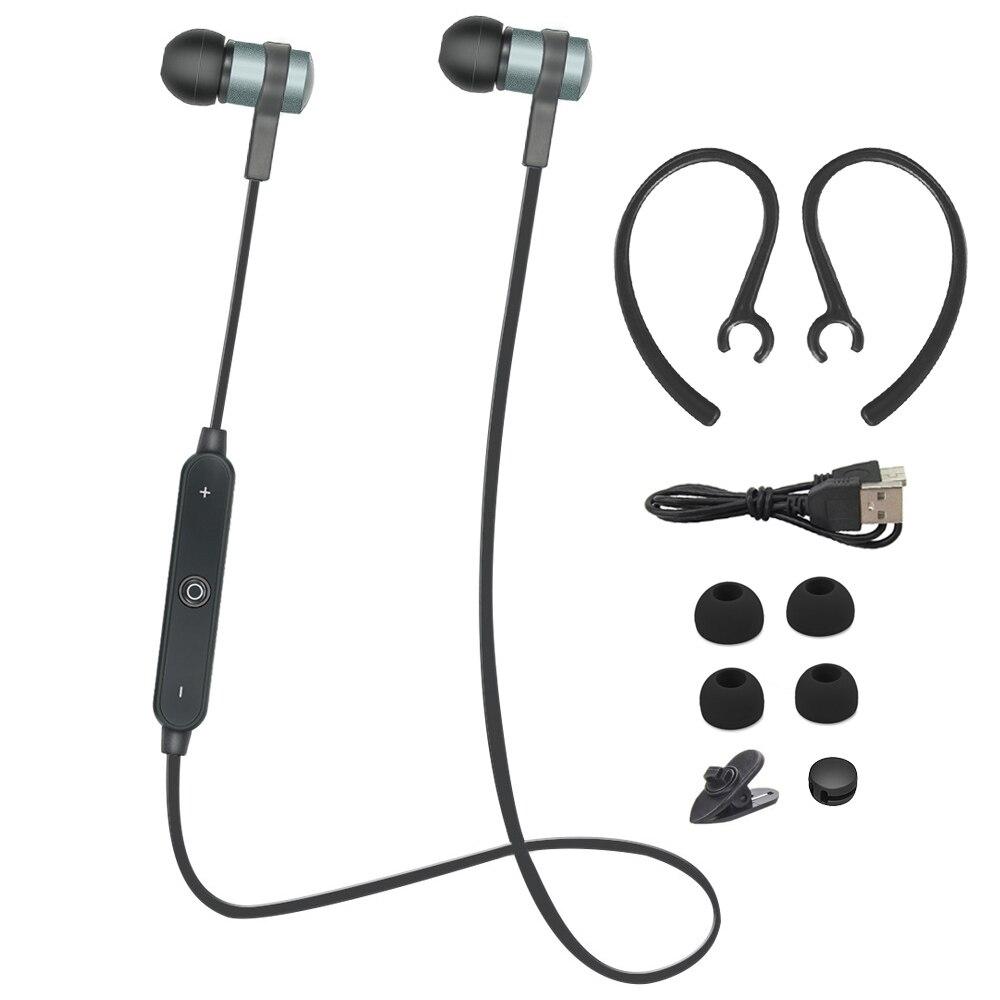 Portable Sport Stéréo Bluetooth écouteurs avec Micro Basse Bruit annulation Casque Sans Fil pour iPHONE xiaomi Samsung HUAWEI