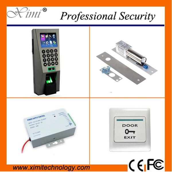 F18 Biometric fingerprint access control tcp/ip Webserver network access controller kit