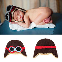Toddlers Hat Cool Baby Boy Girl Kids Infant Winter Warm Cap Cute Hat Winter Keep Warm Hats Photography Props Wholesale(China)