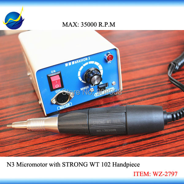 35K RPM Marathon-3 Engraving Micromotor Drill for Gems, Jewelry, Horologe, Wood, Shell, Olive, Amber Polishing, Grinding Casting high speed alloy grinder for polishing and grinding metals for dental and jewelry with korea marathon polishing motor
