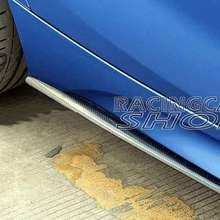 Производительность Реальные углеродного волокна боковые юбки расширения 1 пара для BMW F20 1-серия M135 4 двери 2012UP B199