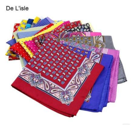 20 colores de la alta regalo de negocios de calidad toalla de bolsillo de seda clásico para hombre pañuelo Fogle casado traje del traje toalla pecho Squareinto
