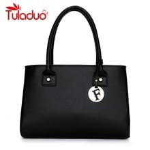 Frauen Umhängetasche Hohe Qualität Pu-leder Tasche Berühmte Marken Designer damen Handtaschen Feste Weiblichen Beiläufigen Einkaufstasche sac ein haupt