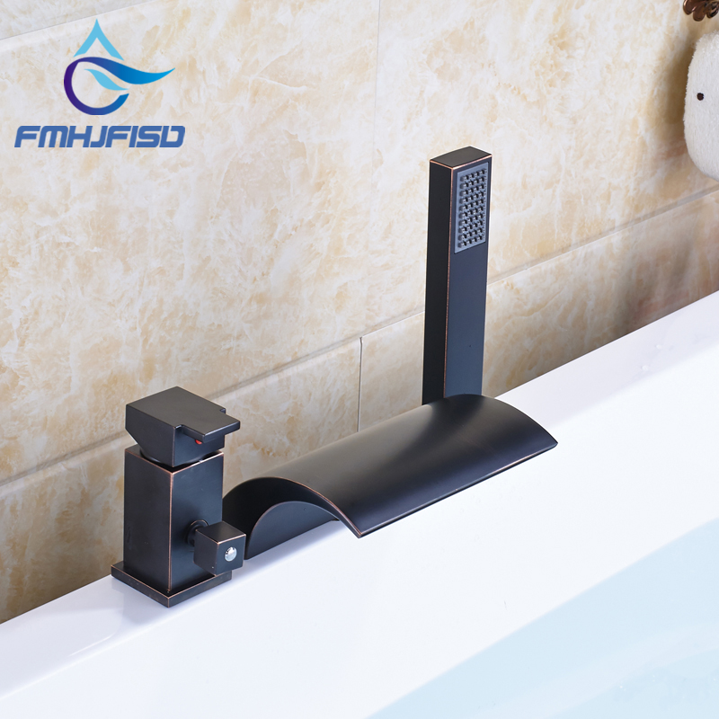 Best Quality Oil Rubbed Bronze Black Bath & Shower Faucet with Plastic Handshower матрасы ladema coco ld 04