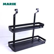 Bathroom Shelves 2 Layer Rack Metal Washing Shower Shampoo Cosmetic Storage Bath Fitting Basket Shelf