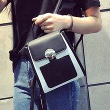 Новинки для женщин модные мини-рюкзак корейский стиль Джокер досуг двойной рюкзак со вставками элегантный дизайн студент университета школьная сумка