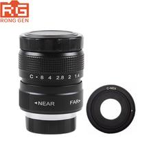 Fujian 25mm F1.4 CCTV TV lens + C NEX Mount Ring for Sony E:NEX3 NEX C3 NEX F3 NEX 5 NEX 5N NEX 5R NEX 5T NEX6 NEX7 A6000 A6500
