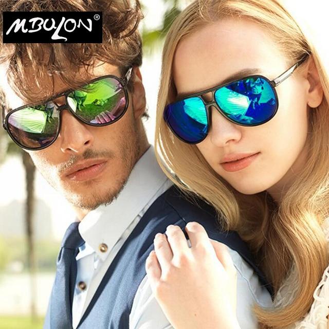 Mbulon Anti-uv Kacamata Hitam Pria Lonjong Cermin Matahari Kacamata Merek  Desainer Pilot Kacamata Wanita bce4d84b54