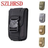 SZLHRSD Universal Military Tactical Holster Hip Belt Bag Waist Phone Case For Samsung Galaxy C8 Ulefone