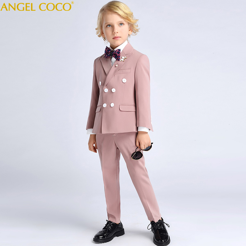 6pcs Set Fashion Suit For Kid Boys Clothes Gentleman Clothes Tops Leisure Clothing Formal Clothing Suit Blazers Outfits Garcon6pcs Set Fashion Suit For Kid Boys Clothes Gentleman Clothes Tops Leisure Clothing Formal Clothing Suit Blazers Outfits Garcon