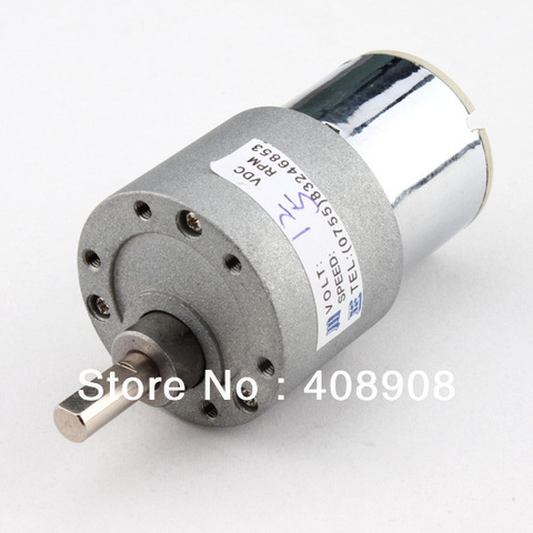 Wholesale - 12V 5 RPM Torque Gear Box DC Motor for Watch Winding Pakistan