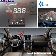 цена на Liislee Car Projector Screen For Toyota Land Cruiser Prado 1998~2014 Safe Driving Refkecting Windshield HUD Head Up Display