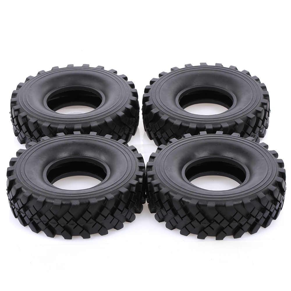 4 piezas 2,2 pulgadas 127mm 1:10 RC Rock Crawler neumáticos para las 1:10 Rock Axial de los espectros RR10 TRX-4 RC Rock orugas Jeep Truck