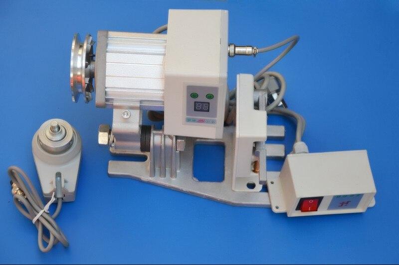 Risparmio energetico Regolabile Velocità Brushless Servo Motore per Industrial Macchina Da Cucire con ago Fisso holder220V