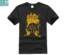 Gojira Men Black T-shirt Metal Band Fan Tee Shirt Lenfant Sauvage Size S-3XL Cotton Cool Design 3D T Shirts Round Neck Clothes