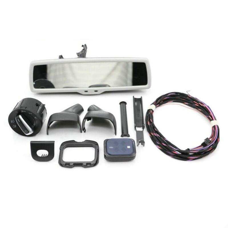 The original car headlight switch + light rain wiper sensor + anti glare rearview mirror VW tiguan Golf 6 Jetta Passat B7L MK5 дополнительная фара gofl glare of light gl 0470 3311