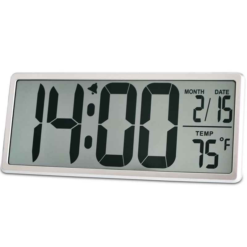 Buy extra large vision digital wall clock jumbo digital alarm clock 13 8 lcd - Extra large digital wall clock ...