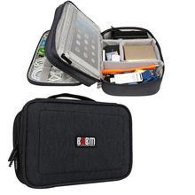 купить BUBM DPS-S Double Layer Electronics Accessories Cable Organizer Data Cable Storage Bag Carry Case COD по цене 1779.97 рублей