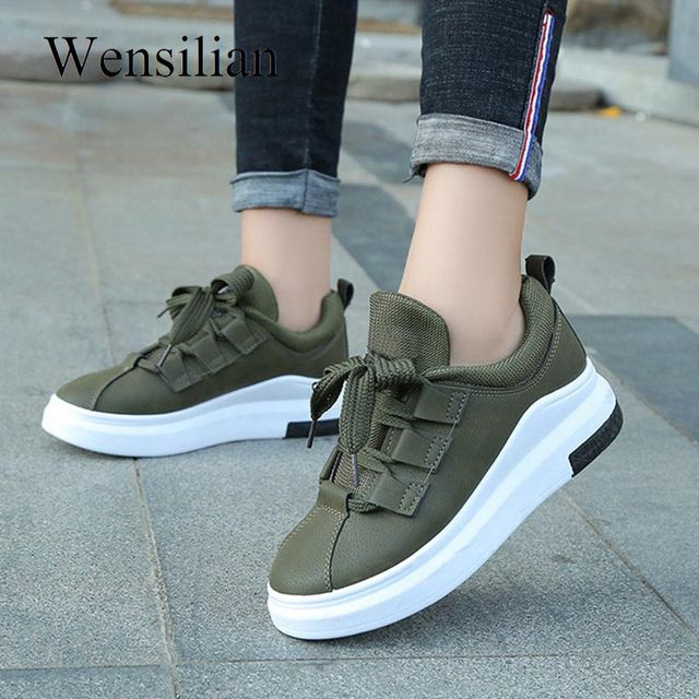 49e4ee355d43 Designer Platform Sneakers Women Trainers Vulcanized Tenis Feminino Ladeis  Casual Shoes Rubber Black Sneakers Zapatillas Mujer