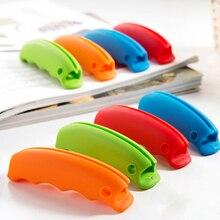 2 шт Бытовая Портативная сумка для переноски с силиконовыми ручками устройство для защиты рук домашние кухонные инструменты ручка для выбора цвета