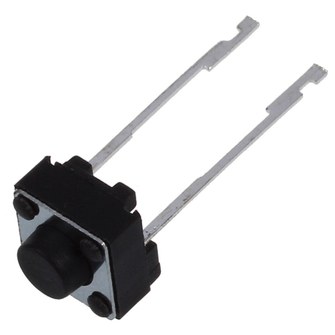 KSOL 20 Pcs 6x6x4mm Momentary Tactile Push Button Switch 2 Pin DIP Through