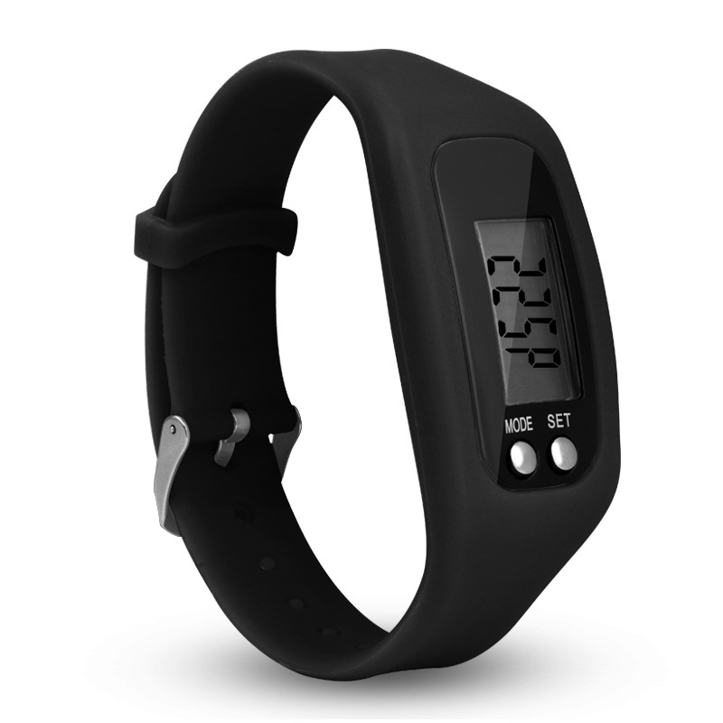 Men Women Sports Life Waterproof Bracelet Watches Kids LED Electronic Digital Color Silicone Pedometer Wrist Watch For Children все цены