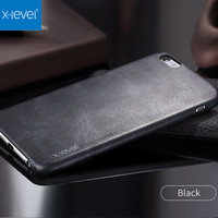 X Level 0 69mm Ultra Thin Vintage Phone Case For IPhone 6 6S Plus Luxury Soft