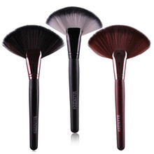 1 unids Gran Fan Powder Blush Brush Cosmética Profesional Pinceles de Maquillaje Maquillaje Pinceles Fundación Maquillaje Herramientas Grandes