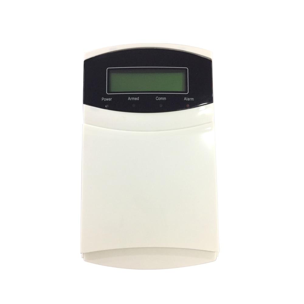 (1 комплект) железная коробка промышленная сигнализация Беспроводная 433 МГц пульт дистанционного управления ЖК Клавиатура 16 беспроводных и 16 проводных зон GSM PSTN Двойная сеть - 6