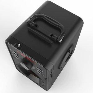 Image 5 - Junke 2.1 Portable Bluetooth Speaker Draadloze Stereo Subwoofer Zware Bas Speakers Muziekspeler Ondersteuning Led Display Fm Radio Tf